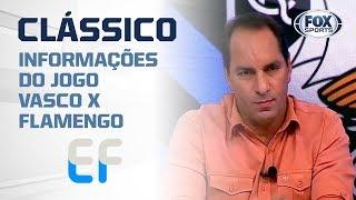 """VASCO X FLAMENGO: Informações do clássico no """"Expediente Futebol"""""""