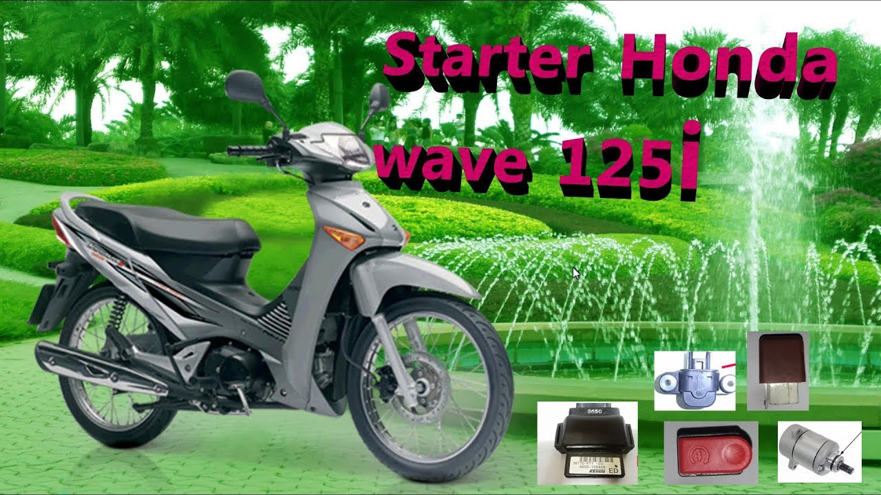 hight resolution of starter honda wave 125i system electrical