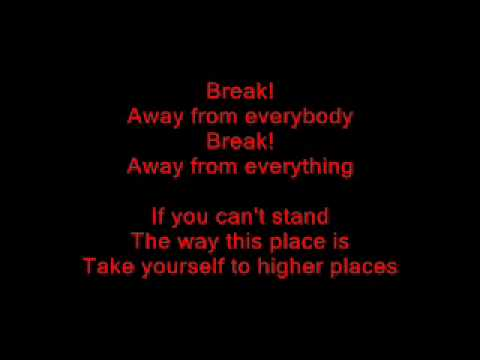 Three Days Grace - Break [LYRICS]