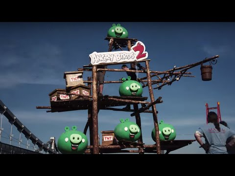 Angry Birds 2 Launch Celebration in Moscow