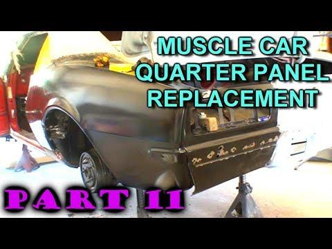 Quarter Panel Replacement - Car Restoration - Part 11