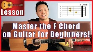 Master the F Ch๐rd on Guitar for Beginners - FINALLY!