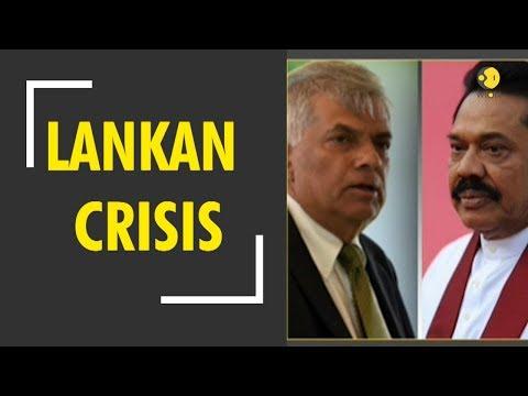 Lankan Crisis: Ruckus in Sri Lankan Parliament