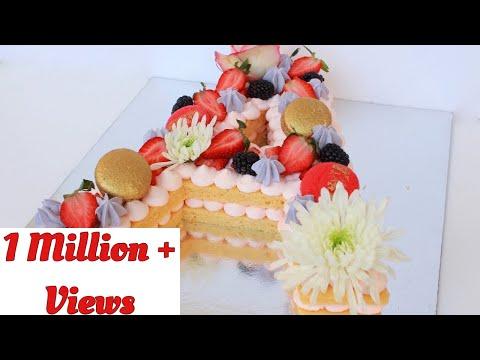 Alphabet Cake -