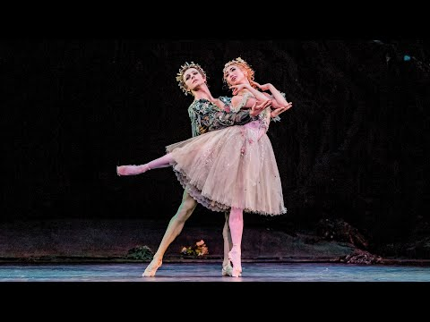 The Dream – Titania and Oberon pas de deux (Akane Takada, Steven McRae; The Royal Ballet)