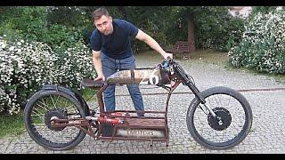 Электромотоцикл своими руками 26 Bike Emotors / Самодельный электровелосипед(Электромотоцикл с использованием 2х моторов по 1000 ватт каждый, максимальная скорость байка 50 км/ч, дальност..., 2016-05-23T09:05:25.000Z)