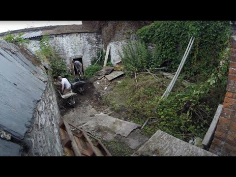 1820s Georgian House Garden Clearance - Time Lapse