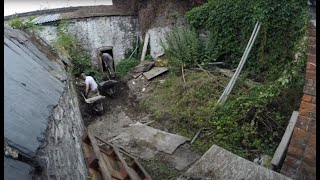 1820s Georgian House Garden Clearance - Time Lapse