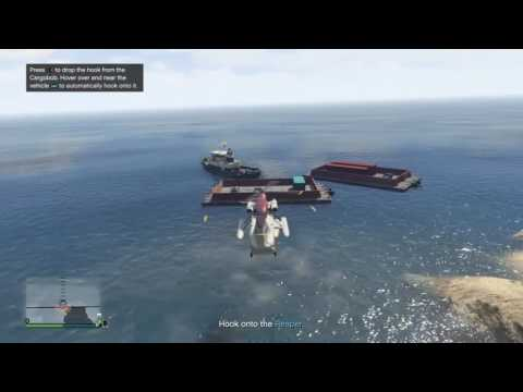 GTA 5 - Import/Export - Source Vehicle - Airlift car offshore, outrun Buzzards