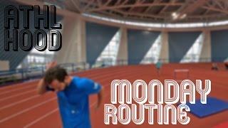 MONDAY ROUTINE / Понедельник день тяжелый