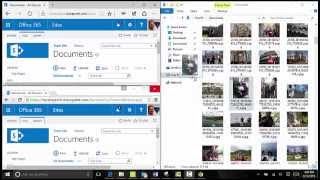 SharePoint & Office 365 Drag and Drop on Windows 10 with Chrome vs Edge & IE 11