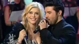 The Voice Of Romania - Dragos Chircu and Loredana - Con te partiro