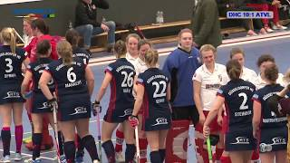 DM Hallenhockey Viertelfinale Damen DHC vs. ATVL 27.01.2018 Highlights