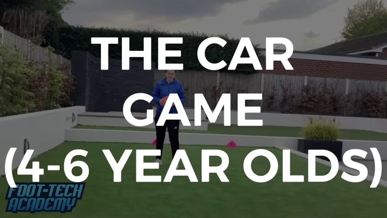 The Car Game for 4-6 Year Olds