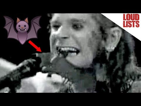 Top 10 Craziest Ozzy Osbourne Moments
