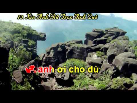 Karaoke - Xin Anh Giữ Trọn Tình Quê