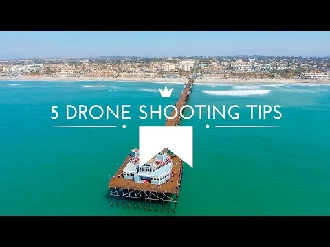 5 tips for getting the best video footage from your drone flight