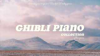 Studio Ghibli Piano Collection 10 Hour • Relaxing Music for Sleep & Study