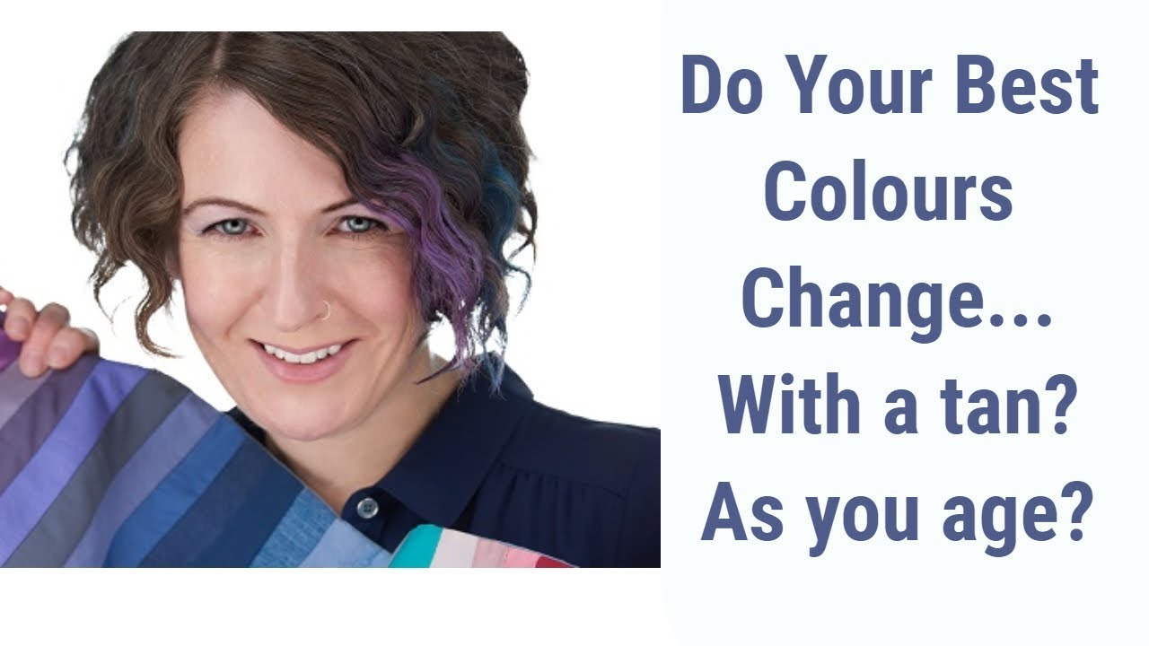 Do Your Colour Analysis Results Or Best Colours Change With A Tan Or