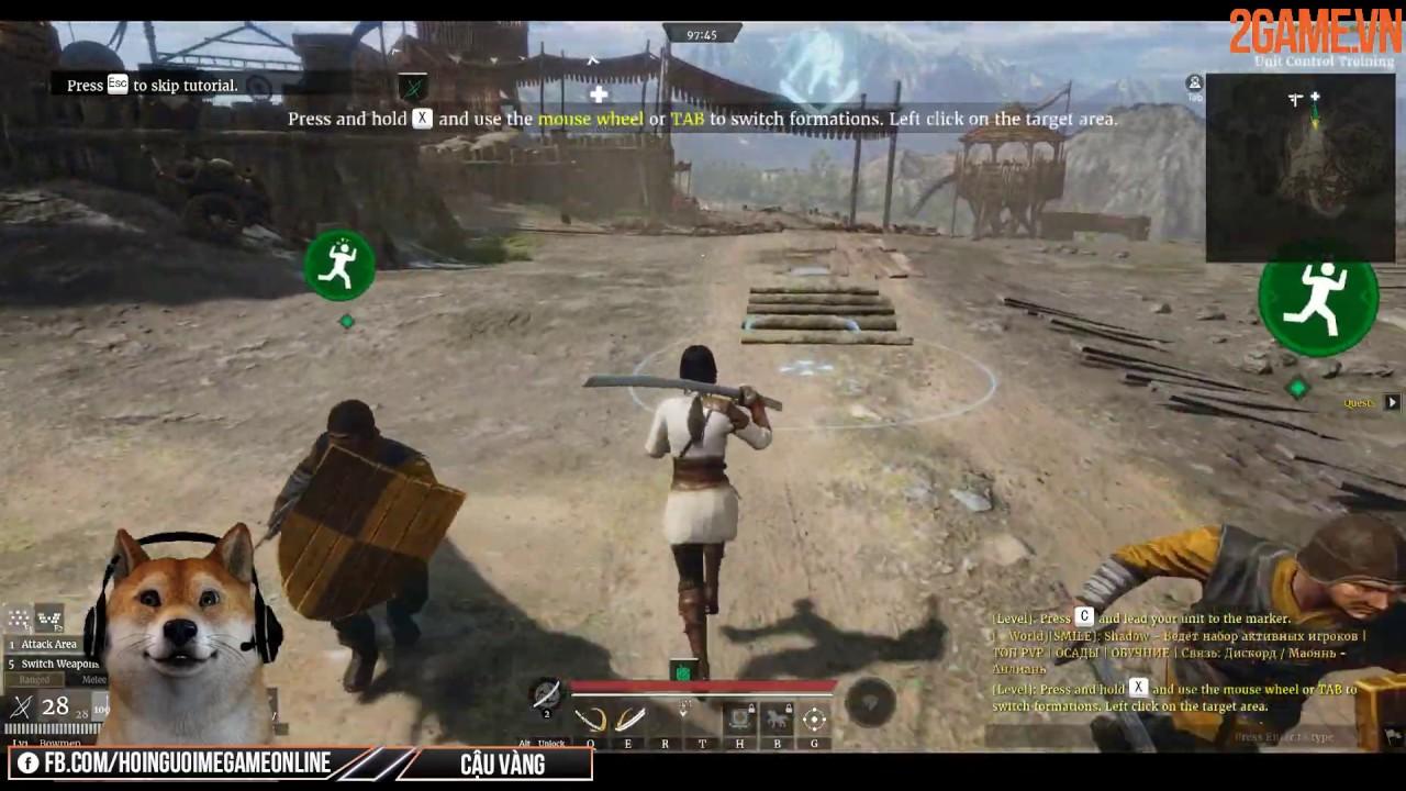 Trải nghiệm Conqueror's Blade – Game chiến thuật kết hợp hành động chất lượng cao dành cho PC