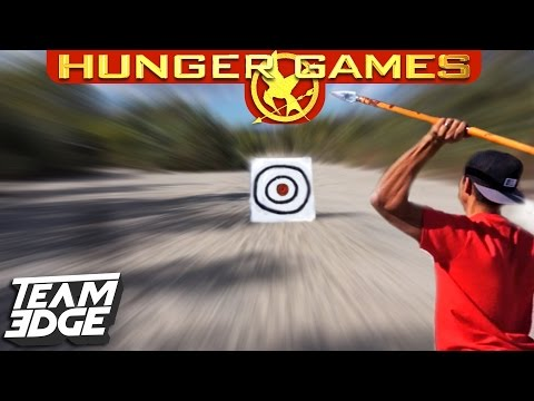 HUNGER GAMES TRAINING CHALLENGE!!