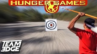 HUNGER GAMES TRAINING CHALLENGE!!