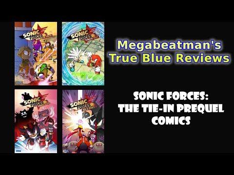 Sonic Forces: The Tie-In Prequel Comics - A Comic Review by Megabeatman