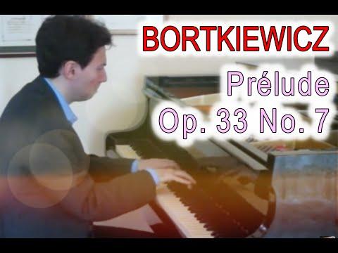 Gabriele Tomasello Plays Sergei Bortkiewicz - Prelude op 33 n 7 ボルトキエヴィチ