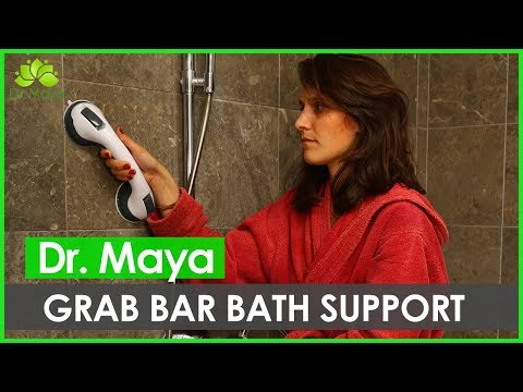 How to Install Grab Bar in The Shower by Dr. Maya