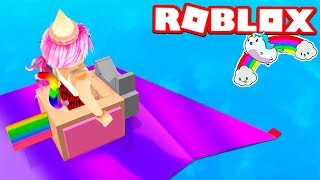 UNICORNIO TOBOGAN 999.999.999 METERS in ROBLOX!