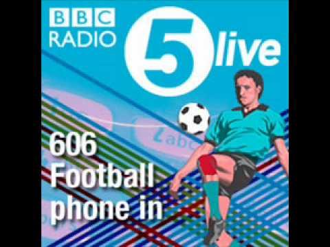 606 Caller Confronts Robbie Savage Sat, 28 Aug 2010