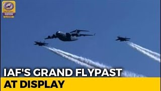 Grand Flypast On Display At Indian Air Force's 87th Anniversary