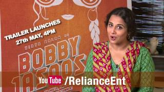 Bobby Jasoos - Trailer Launches On 27th May, 4pm