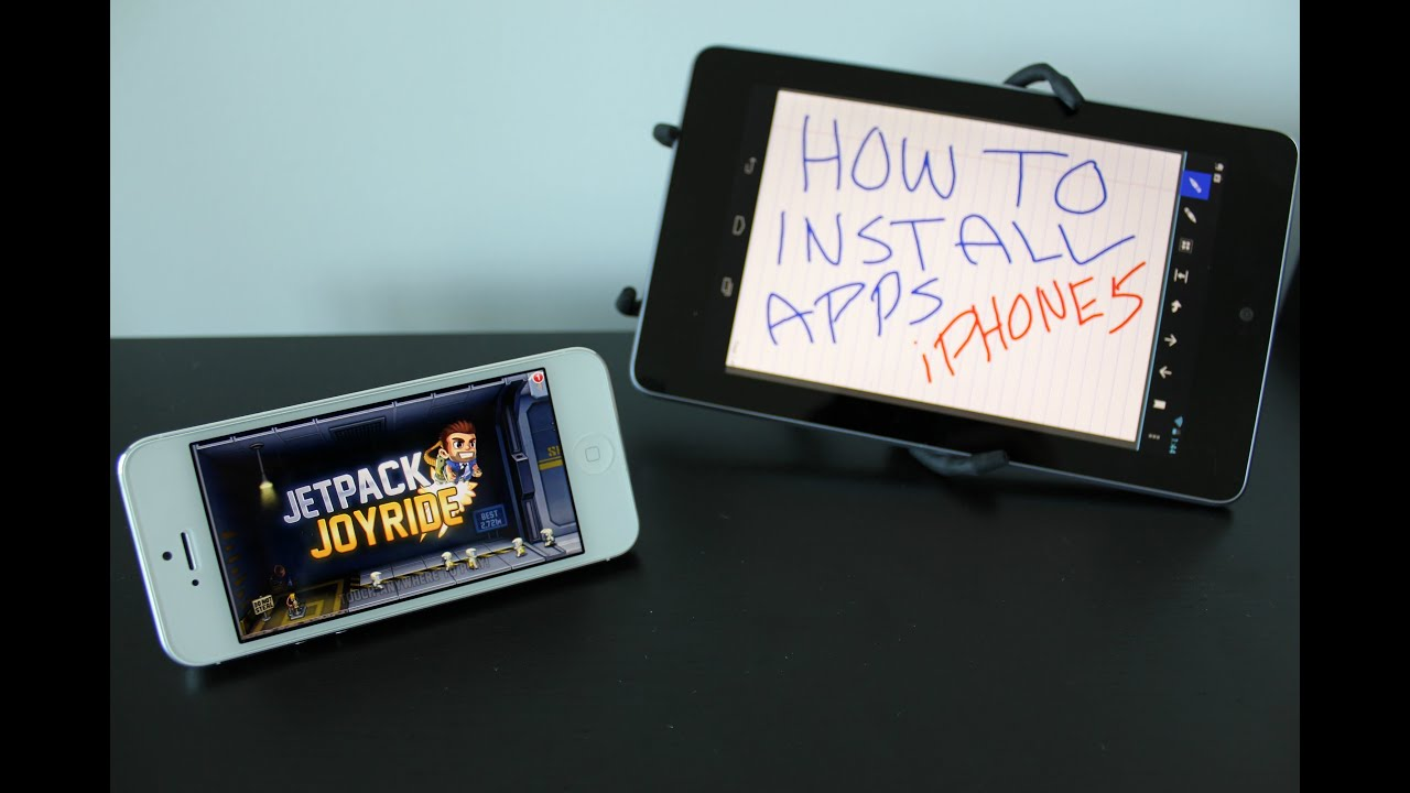 How To Install Apps On The Iphone 5  How To Use The Iphone 5
