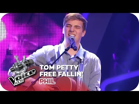 Tom Petty - Free Fallin' (Phil)   Blind Auditions   The Voice Kids 2018   SAT.1