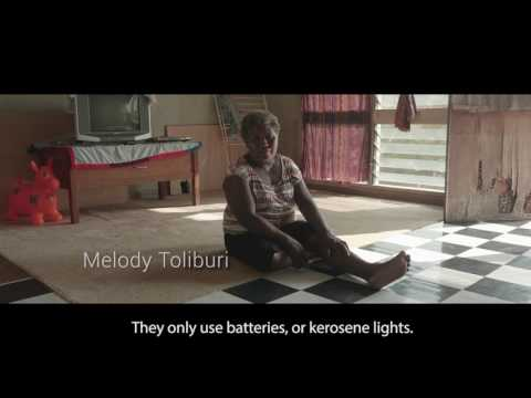 Making Affordable Electricity Available to Solomon Islanders