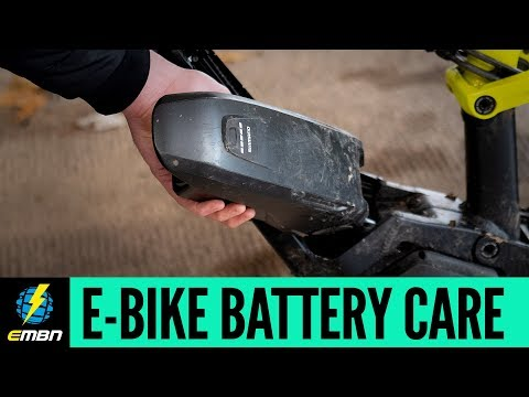 E-Bike Battery Care And Maintenance
