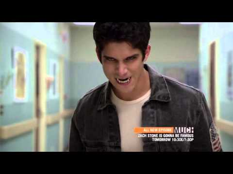 Download Teen Wolf S3E01 Tattoo - Derek saves Scott and Isaac from an alpha