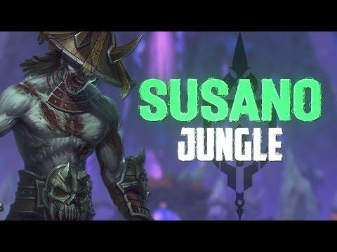 Susano Jungle: COUNTERING AO KUANG CRAZY HARD! - Incon - Smite