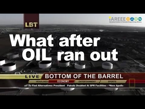 what after oil ran out