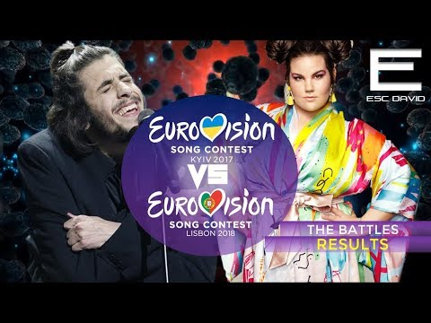 RESULTS | 2017 vs 2018 Grand Final Results | Eurovision Song Contest 2017/2018