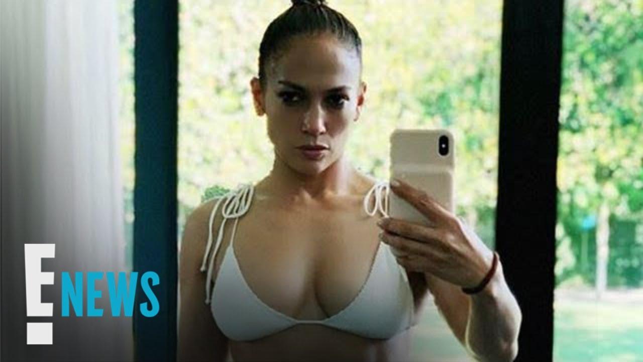 Jennifer Lopez Shares Sexy Bikini Selfie: