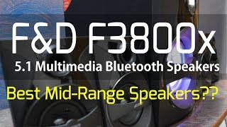 F&D F3800x 5.1 Home Theatre | Unboxing and Review | Best Mid Range Speakes??