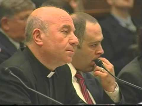 Congressional Hearing for the Independence of Kosova -- Testimony of Bishop Mark Sopi