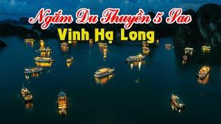 Ngắm Du Thuyền 5 Sao Ăn Hải Sản Trên Vịnh Hạ Long | CHECK IN