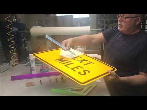 What You Need To Make Traffic Signs
