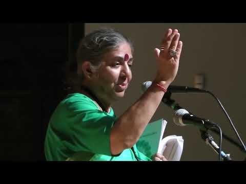 Dr. Vandana Shiva - Author, Activist, Pioneer, Scientific Advisor, Mother - Soil Not Oil 2017 -