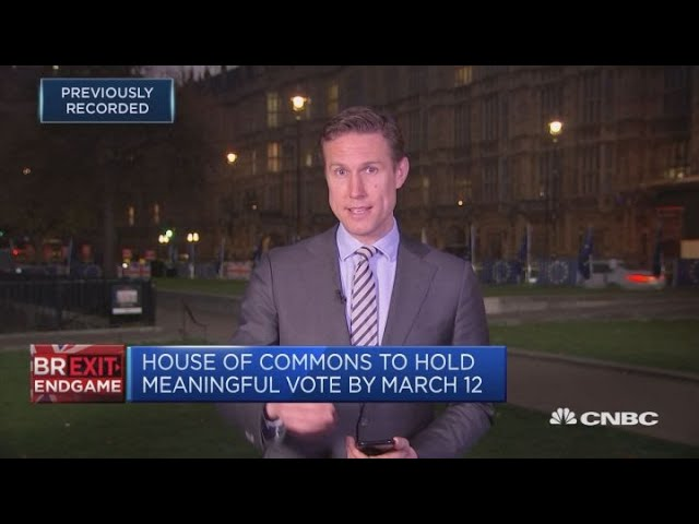 UK lawmakers to vote on Brexit procedure | Street Signs Europe