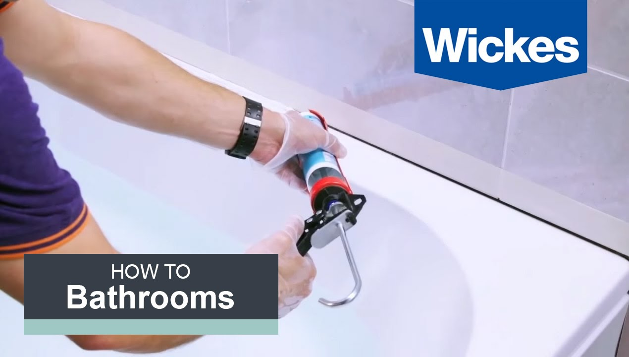 How To Seal A Bath With Wickes Youtube