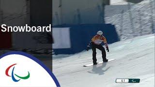 Evan STRONG | Snowboard cross | Snowboard | PyeongChang2018 Paralympic Winter Games